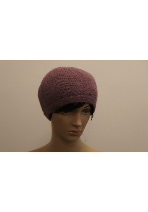 Hand Made Wool Hat Knitted Ribbon