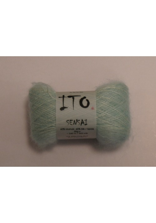 Mohair Silk Yarn Ito Sensai Knitted Ribbon